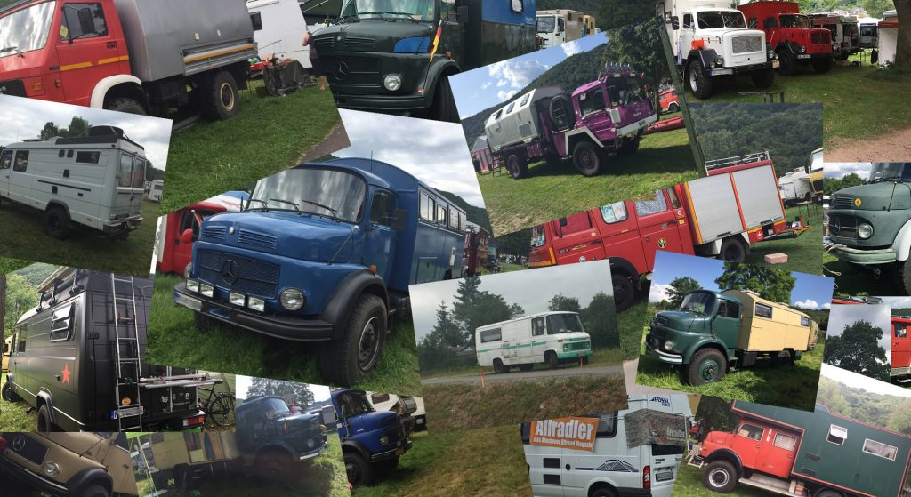 Foto Collage Willys Treffen 2017