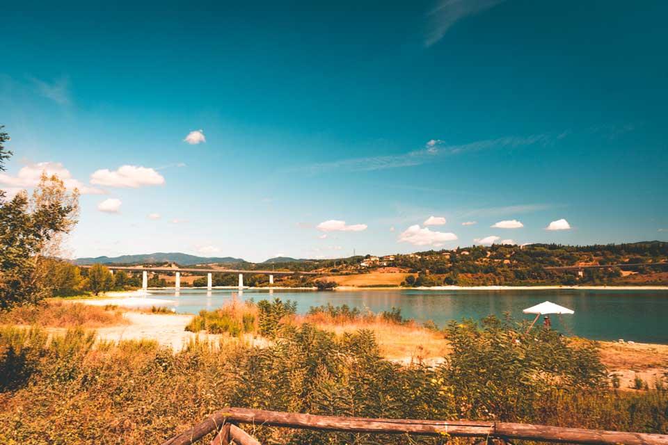 Stausee Toscana