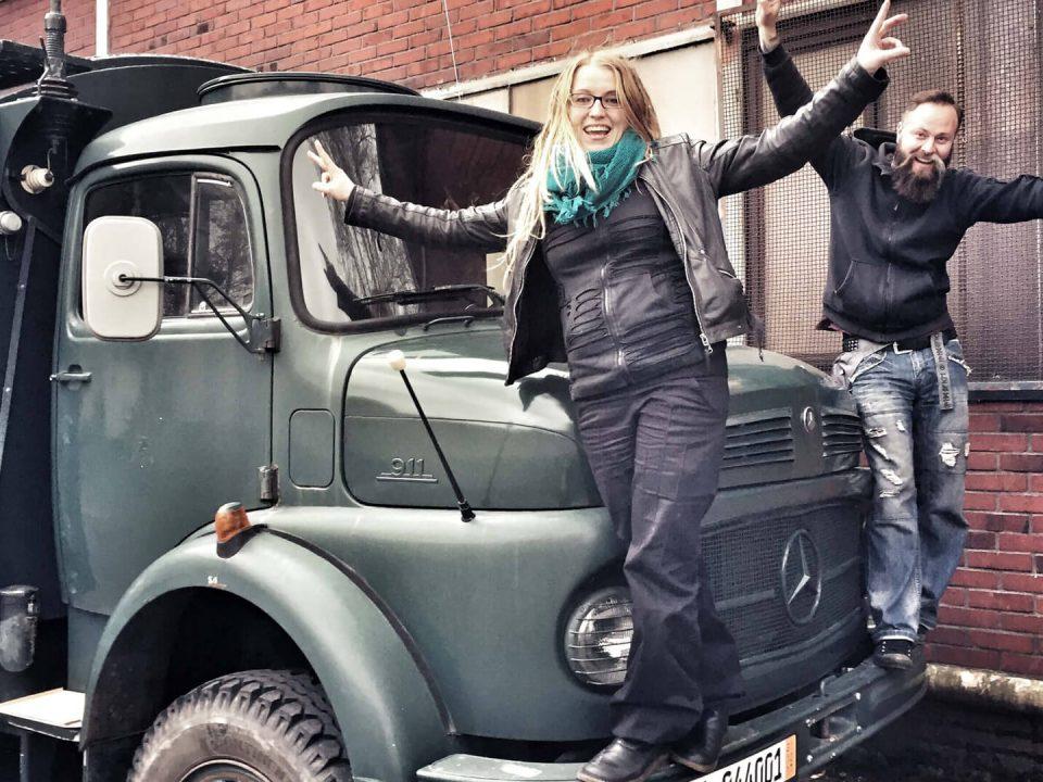 Mercedes Kurzhauber vor Projektstart